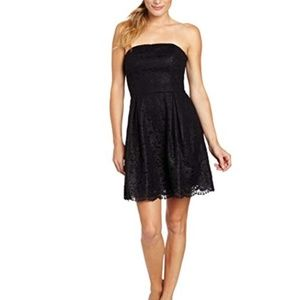 Lilly Pulitzer Marielle Strapless Dress LBD Lace